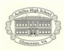 Achilles High School Ornament