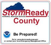 Storm Ready County Button