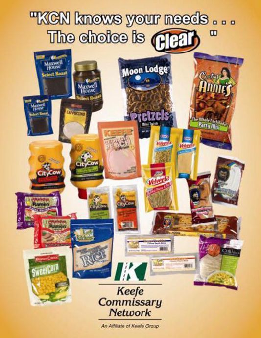 Keefe Commissary Network Flyer