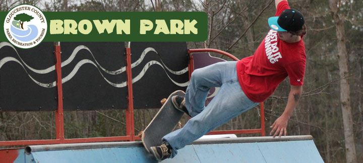 Skater at Brown Park