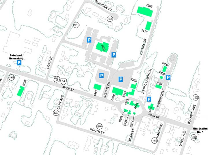 Main Street Layout Map