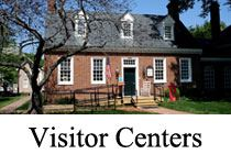 Visitor Centers image of a two story brick building