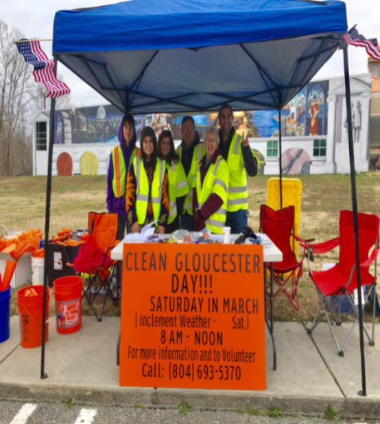 Clean Gloucester Day Booth