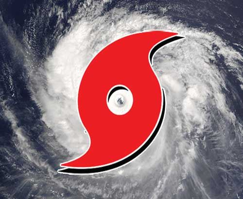 Graphic of a Hurricane