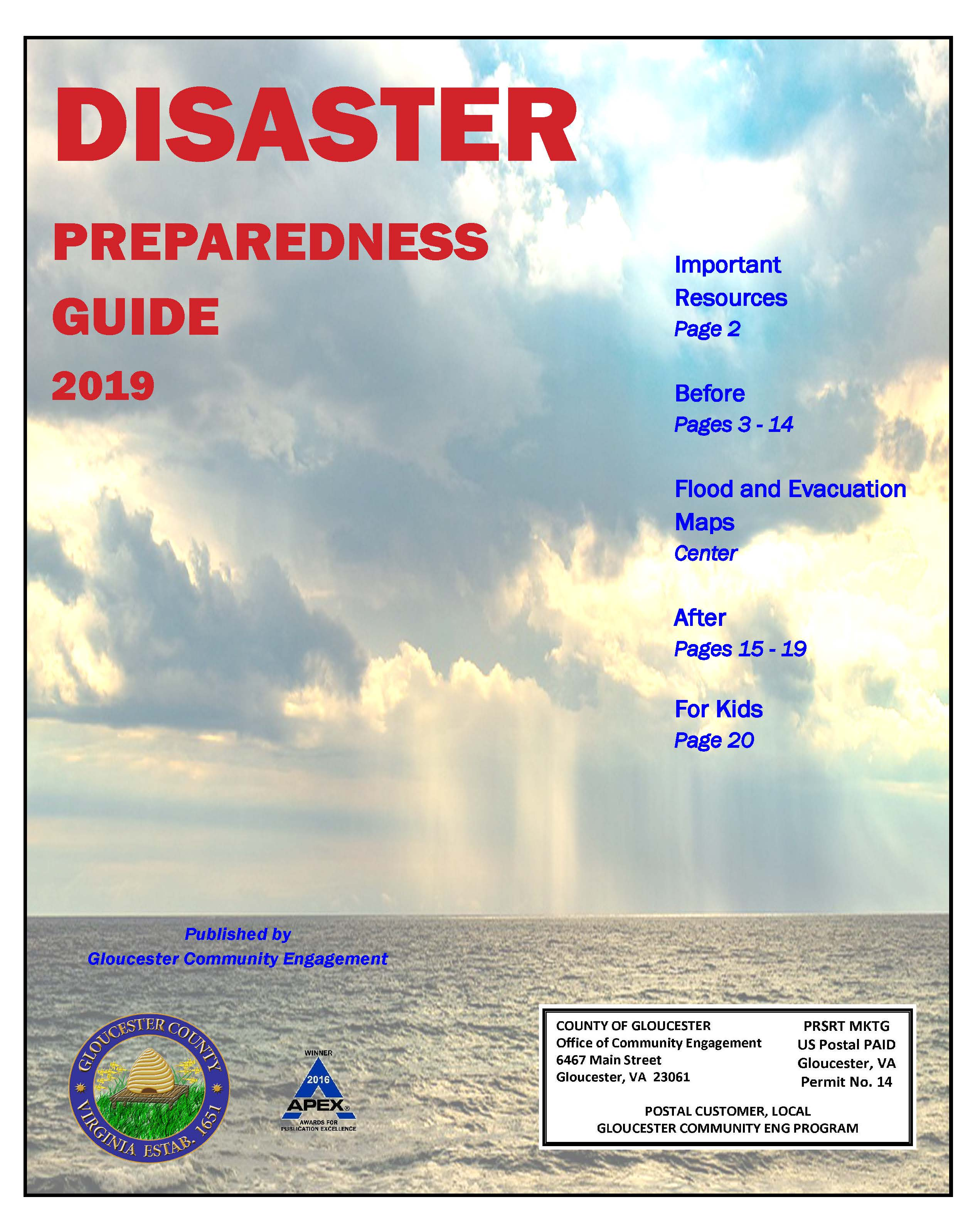 Disaster Preparedness Guide 2019