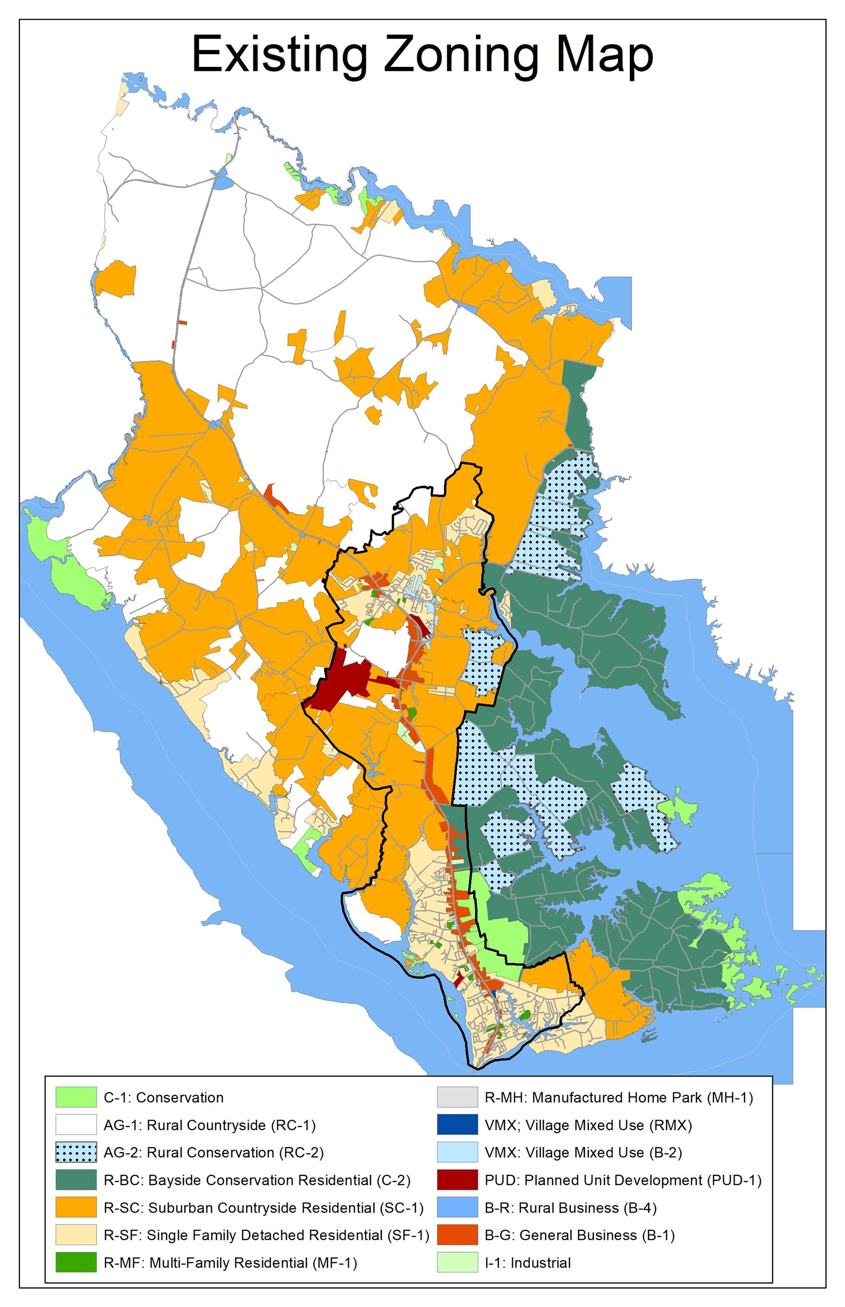 Existing Zoning Map