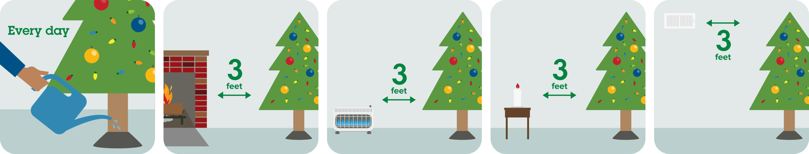 Holiday Tree Pictograph