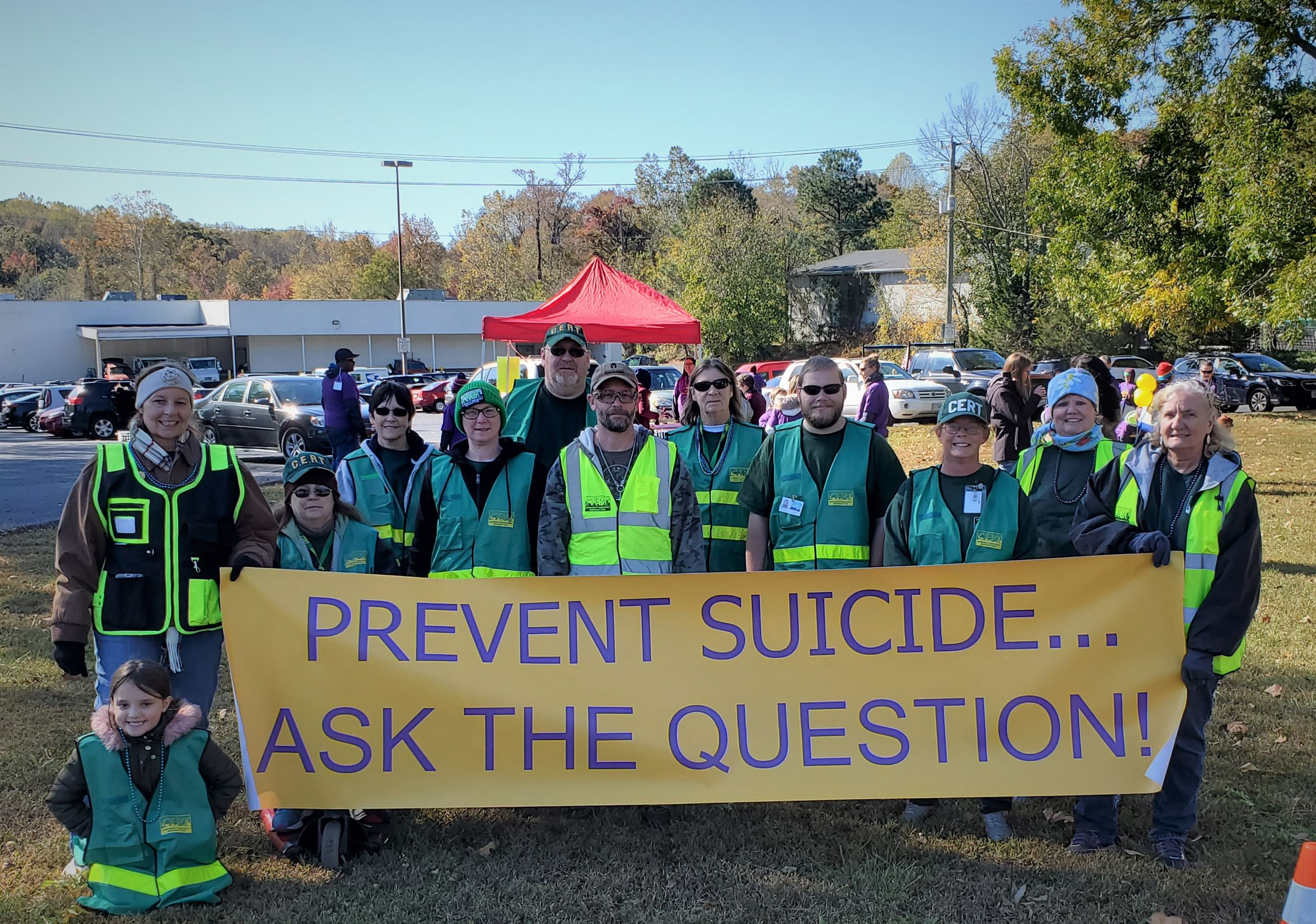 Sucide Awareness Walk