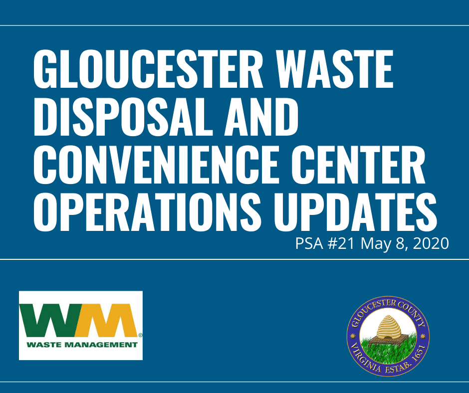 Gloucester Waste and Disposal Operation Updates