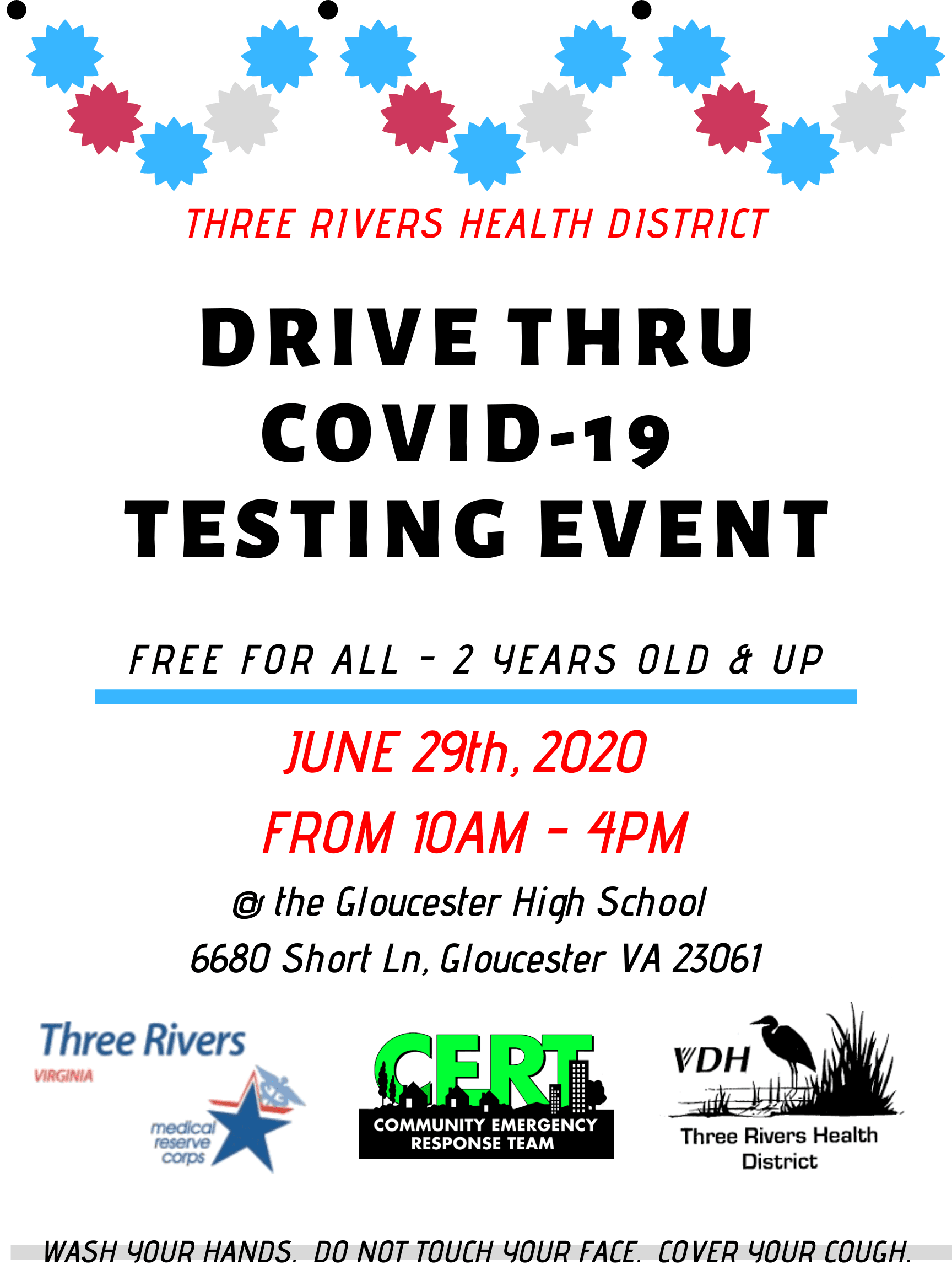Gloucester County COVID Testing Event