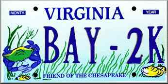ChesBay license plate