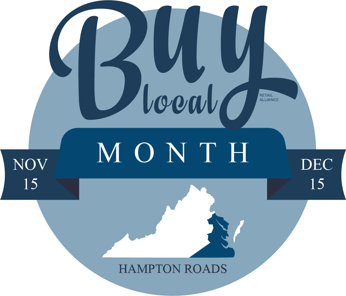 Buy Local Month Hampton Roads logo