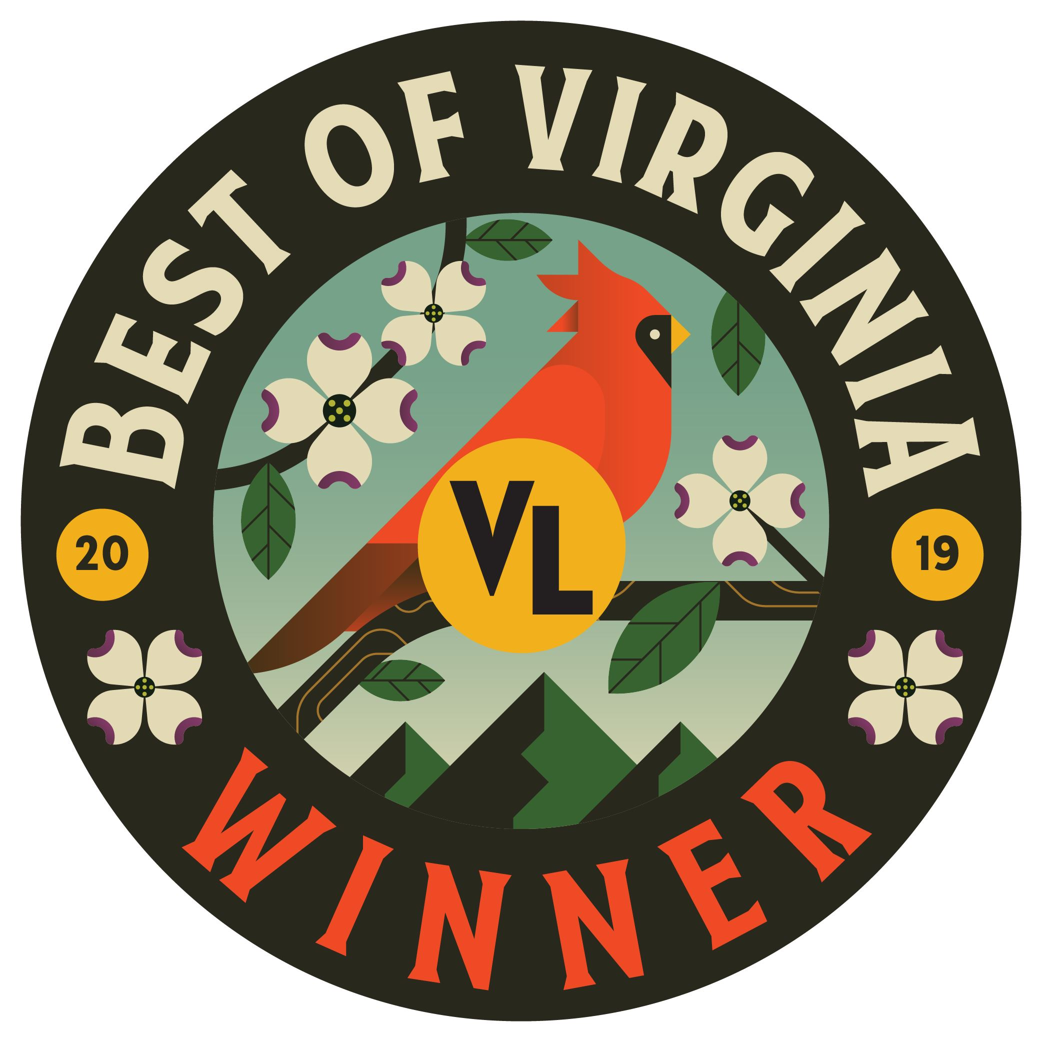 Virginia Living Best of Virginia Logo